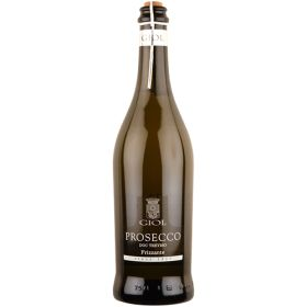 Giol Organic Prosecco Bianco 11% ABV - Organic 6x75cl