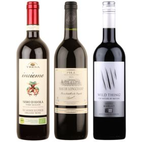 Mixed Red Wines - Organic 6x75cl