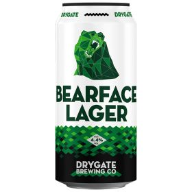 Bearface Lager 4.4% ABV 12x440ml