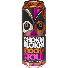 Chokka Blokka Mocha Stout 4.8% ABV 12x500ml
