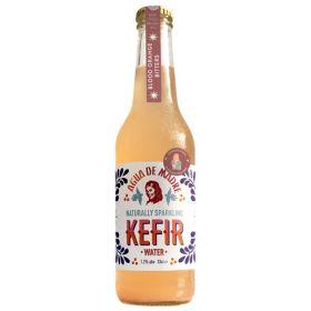 Low Alcohol Blood Orange Bitters Kefir abv 1.2% -Organic 6x3