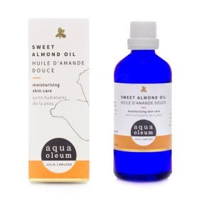 Cold Pressed Sweet Almond Base Oil 6x100ml