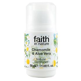 Aloe & Chamomile Roll-On Deodorant 6x50ml