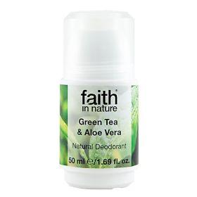 Aloe & Green Tea Roll-On Deodorant 6x50ml