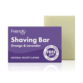 Orange & Lavender Shaving Bar 6x95g