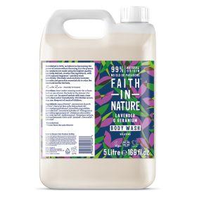 Lavender & Geranium Body Wash 1x5lt