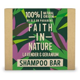 Lavender & Geranium Shampoo Bar 6x85g