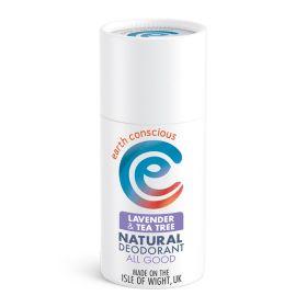 Lavender & Tea Tree Natural Deodorant Stick 6x60g