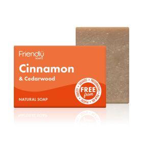 Cinnamon & Cedarwood Soap 6x95g