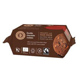 Double Chocolate Cookies - Organic 12x180g