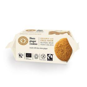 Stem Ginger Cookies - Organic 12x150g