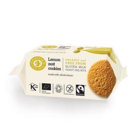 Lemon Zest Cookies - Organic 12x150g