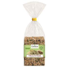 3 Grain & 3 Seeds Crispbread - Organic 8x200g