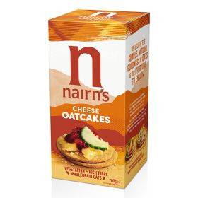 Cheese Oatcakes 12x200g