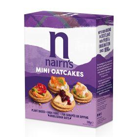 Mini Oatcakes 12x200g