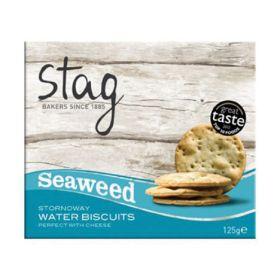 Stornoway Seaweed Cocktail Water Biscuits 12x125g