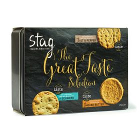 Great Taste Savoury Biscuit Selection Tin 1x250g