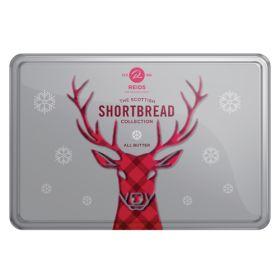 Festive Reindeer Tin All Butter Shortbread 1x300g