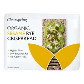Sesame Rye Crispbread - Organic 10x200g
