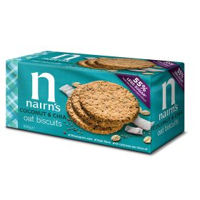 Coconut & Chia Oat Biscuits 10x200g