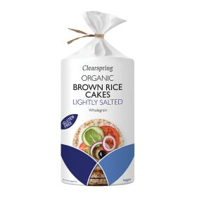 Brown Rice Cakes Lightly Salted - Organic 6x120g