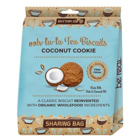 Coconut Cookie Share Bag - Organic 8x135g