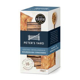 Seeded Wholegrain Sourdough Crackers 12x105g