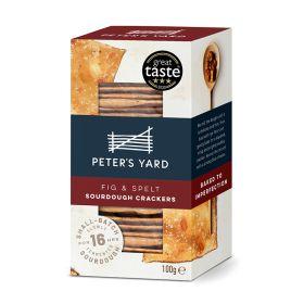 Fig & Spelt Sourdough Crackers 12x100g