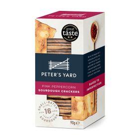 Pink Peppercorn Sourdough Crackers 12x90g