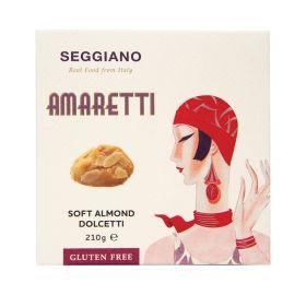 Amaretti Soft Almond Biscuits 6x210g