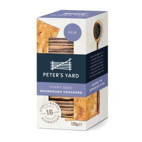 Poppy Seed Sourdough Crackers 8x100g