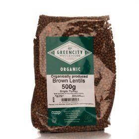 Brown Lentils - Organic 5x500g