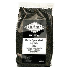 Dark Speckled Lentils 5x500g
