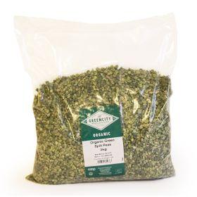 Green Split Peas - Scottish - Organic 1x3kg