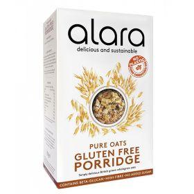 Gluten Free Organic Porridge - Made with Scottish Oats 6x500