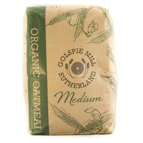 Medium Oatmeal - Organic 8x1kg