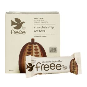 Chocolate Chip Oat Bars - Organic 7x4pack