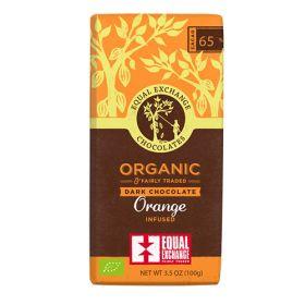 Dark Orange Chocolate - Organic 12x100g