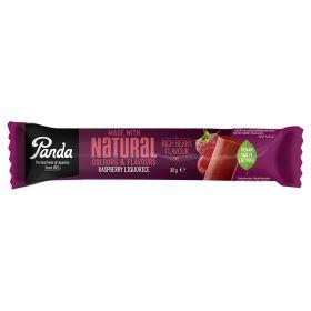 Natural Raspberry Liquorice Bars 36x32g