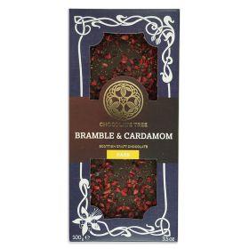 Bramble & Cardamom Dark Chocolate - Organic 10x100g