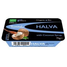 Halva with Coconut Syrup - Organic 12x75g