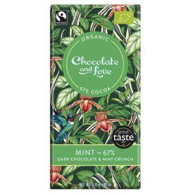 Mint Chocolate 67% - Organic 14x80g