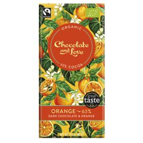 Orange Chocolate 65% - Organic 14x80g