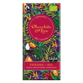 Panama Chocolate 80% - Organic 14x80g