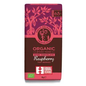 Dark Raspberry Chocolate (65%) 12x100g