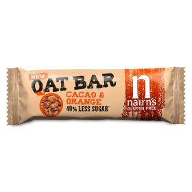 Gluten Free Oat Bars Cacao & Orange 20x40g