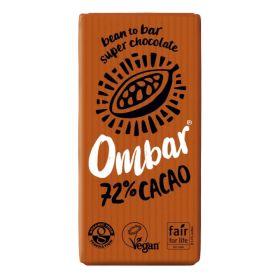 72% Raw Cacao Chocolate - Organic 10x35g