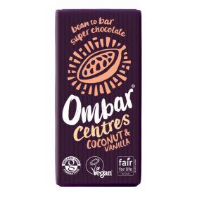 Coconut & Vanilla Centre Raw Chocolate - Organic 10x35g