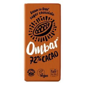 72% Raw Cacao Chocolate - Organic 10x70g