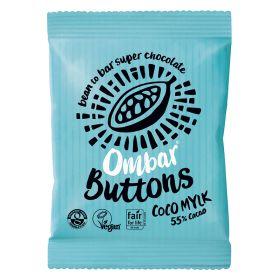Coco Mylk Raw Chocolate Buttons - Organic 15x25g
